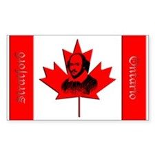 Canada Bard Rectangle Decal