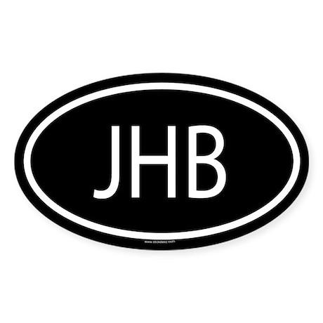 JHB Oval Sticker