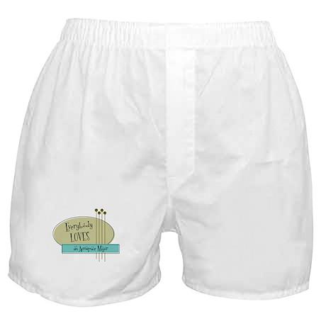 Everybody Loves an Aerospace Major Boxer Shorts