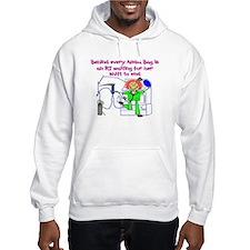 Unique Nursing slogan Hoodie
