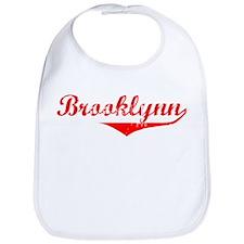 Brooklynn Vintage (Red) Bib