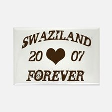 swaziland forever Rectangle Magnet