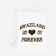 swaziland forever Greeting Card