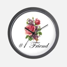 #1 Friend Wall Clock