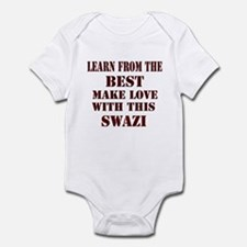 learn more from swazi Infant Bodysuit