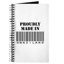 proudly made in swaziland Journal