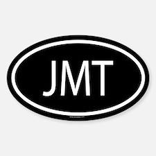 JMT Oval Bumper Stickers