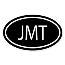 JMT Oval Decal