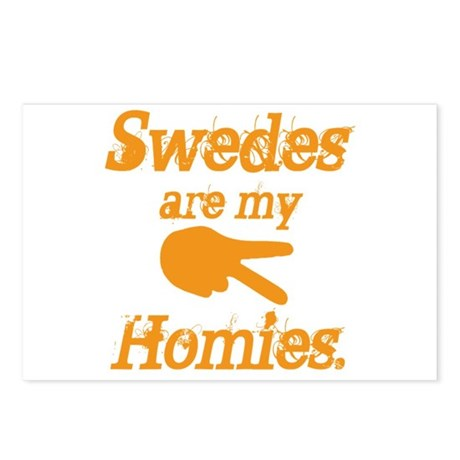 Swedes are my homies Postcards (Package of 8)