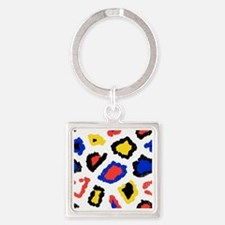Funny Cool kids Square Keychain
