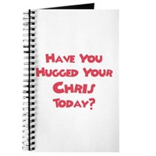 Have You Hugged Your Chris? Journal