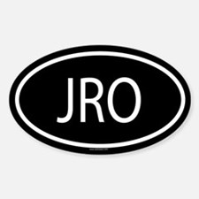 JRO Oval Decal