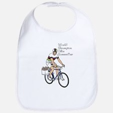 World Champion Bike Commuter (In Rainbow Jerse Bib