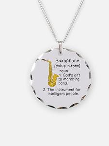 Cute Saxophone Necklace