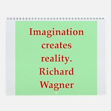 Wagner Wall Calendar