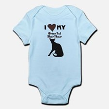 I Heart My Oriental Shorthair Cat Body Suit