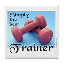 PERSONAL TRAINER Tile Coaster