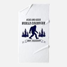 Hide and Seek World Champion Beach Towel