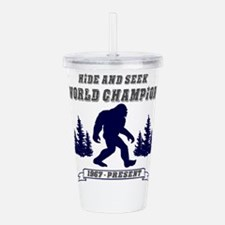 Hide and Seek World Ch Acrylic Double-wall Tumbler
