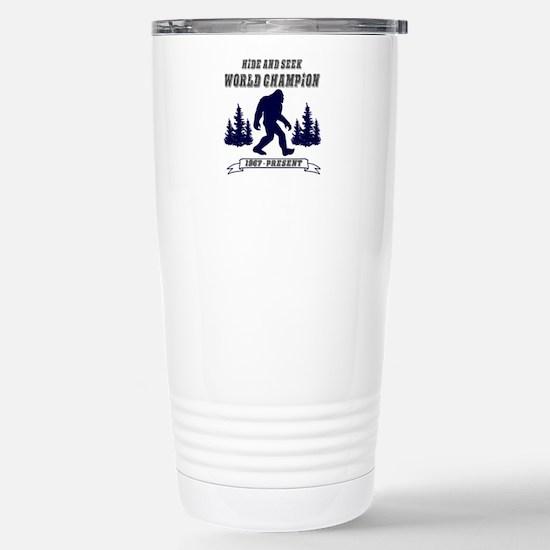 Hide and Seek World Cha Stainless Steel Travel Mug