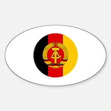 Cute Ddr Sticker (Oval)