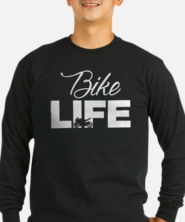 Motorcycle Rider, Cool Biker T Long Sleeve T-Shirt