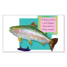 Big Fish Rectangle Decal