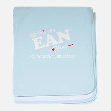 Cute Ean baby blanket