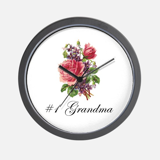 #1 Grandma Wall Clock