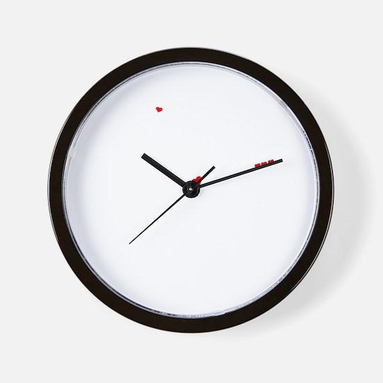 Funny Evo Wall Clock