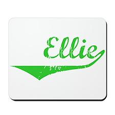 Ellie Vintage (Green) Mousepad