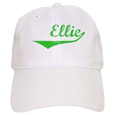 Ellie Vintage (Green) Baseball Cap
