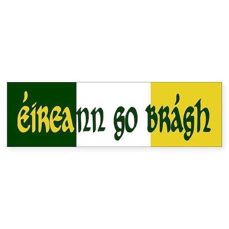 Ireland Forever (Gaelic) Bumper Sticker