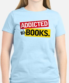 Funny Addicted To Books T-Shirt