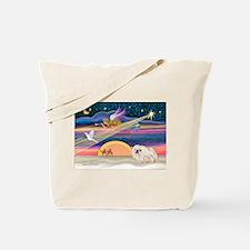 XmasStar/Pekingese (4W) Tote Bag