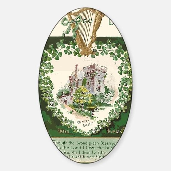 Unique Irish boy Sticker (Oval)