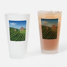Tuscan Villa Drinking Glass
