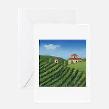 Tuscan Villa Greeting Card