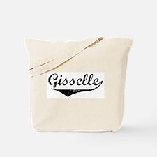 Gisselle Vintage (Black) Tote Bag