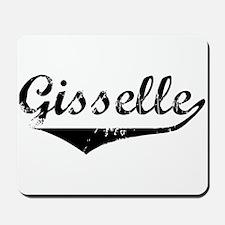 Gisselle Vintage (Black) Mousepad