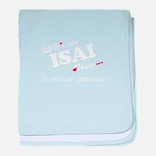 Unique Isai baby blanket