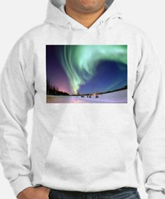 Northern Lights of Alaska Photog Hoodie