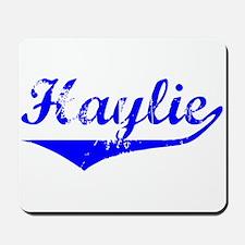 Haylie Vintage (Blue) Mousepad