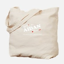 Cute Aidan Tote Bag