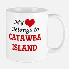 My Heart Belongs to Catawba Island Ohio Mugs