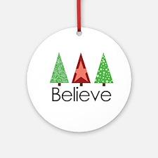 believe 2 Ornament (Round)