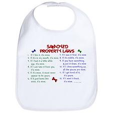 Samoyed Property Laws 2 Bib