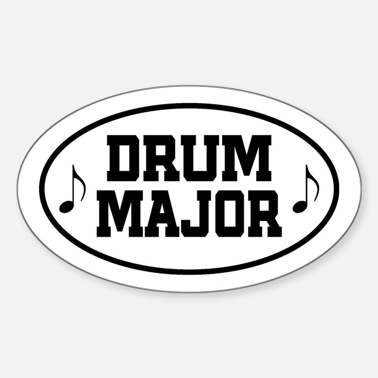 Drum Major Band Gift Decal