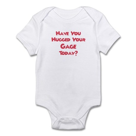 Have You Hugged Your Garrett? Infant Bodysuit