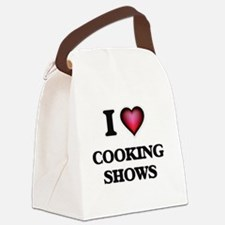 I love Cooking Shows Canvas Lunch Bag